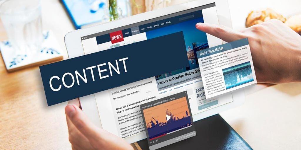 محتوا اختصاصی سایت شرکتی