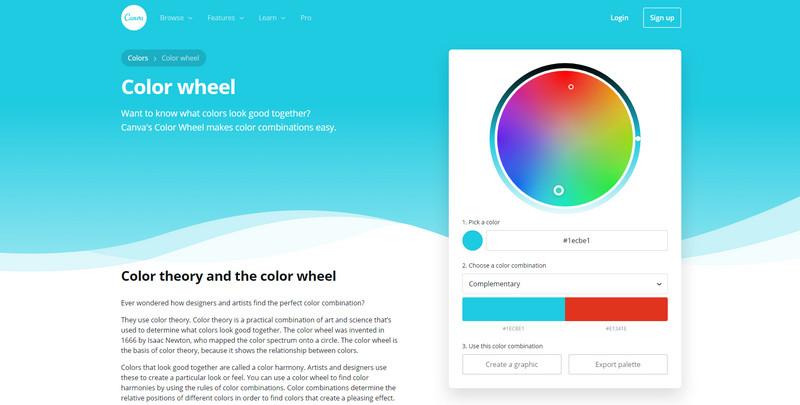 سایت انتخاب رنگ