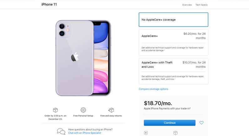 رنگ بندی سایت اپل