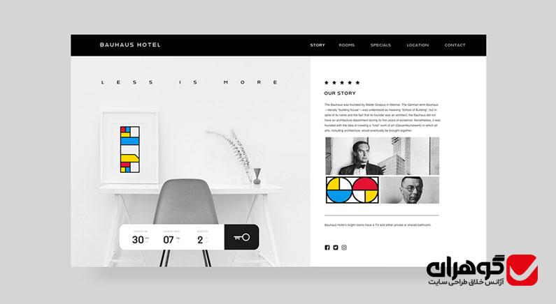 رنگ بندی در طراحی سایت